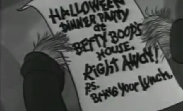 Betty Boop's Hallowe'en Party
