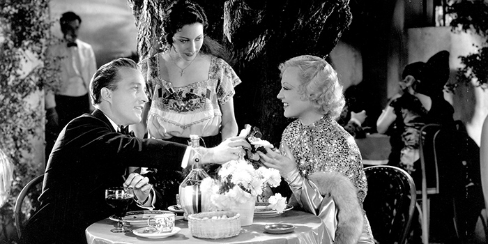 Going Hollywood (1933) Directed by Raoul Walsh Shown seated at table: Bing Crosby, Marion Davies