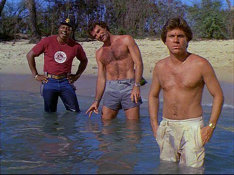 TC, Magnum and Rick