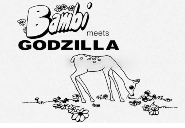 Bambi Meets Godzilla