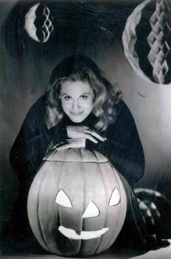 Elizabeth Montgomery Vintage Hollywood Halloween