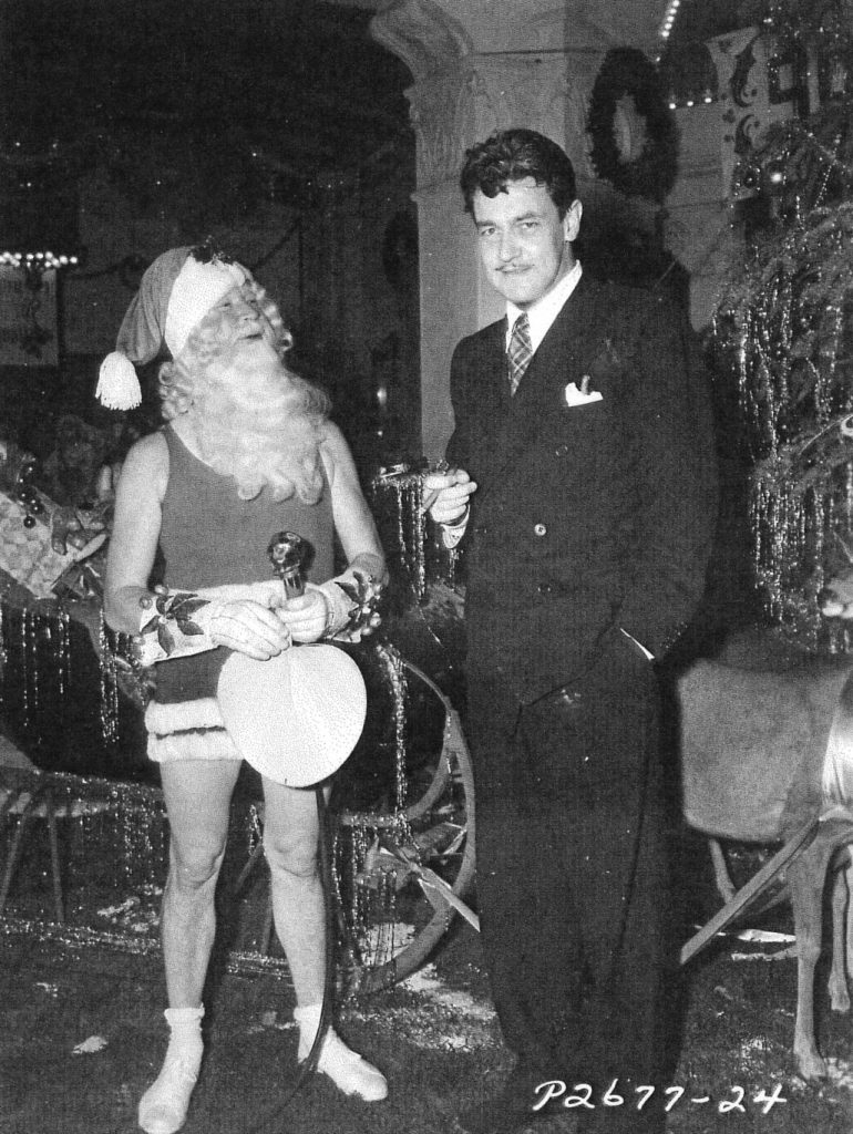 Director Preston Sturges with ... um ... we actually have no idea but couldn't resist.