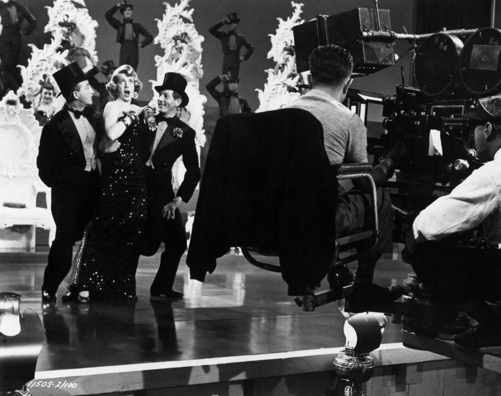 Bing Crosby, Rosemary Clooney, and Danny Kaye cut a rug in Michael Curtiz's WHITE CHRISTMAS (1954)