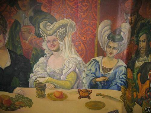 The Paul Bern/Jean Harlow Mural