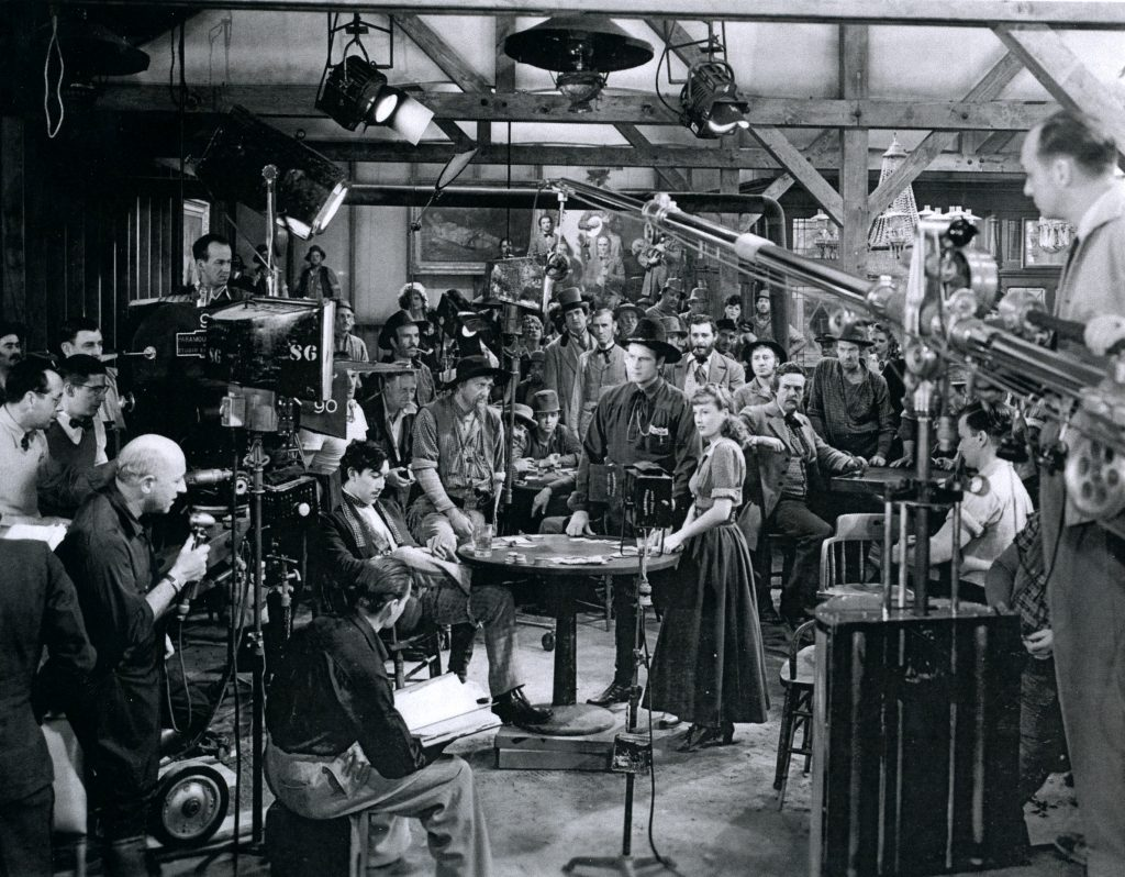 Production Shot of UNION PACIFIC