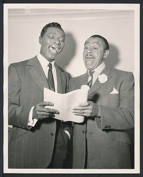 Nat King Cole and Cab Calloway