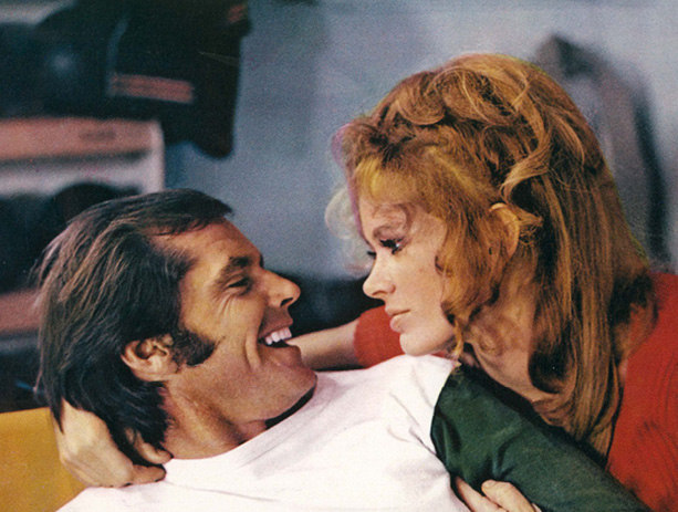 Nicholson and Karen Black, 1970