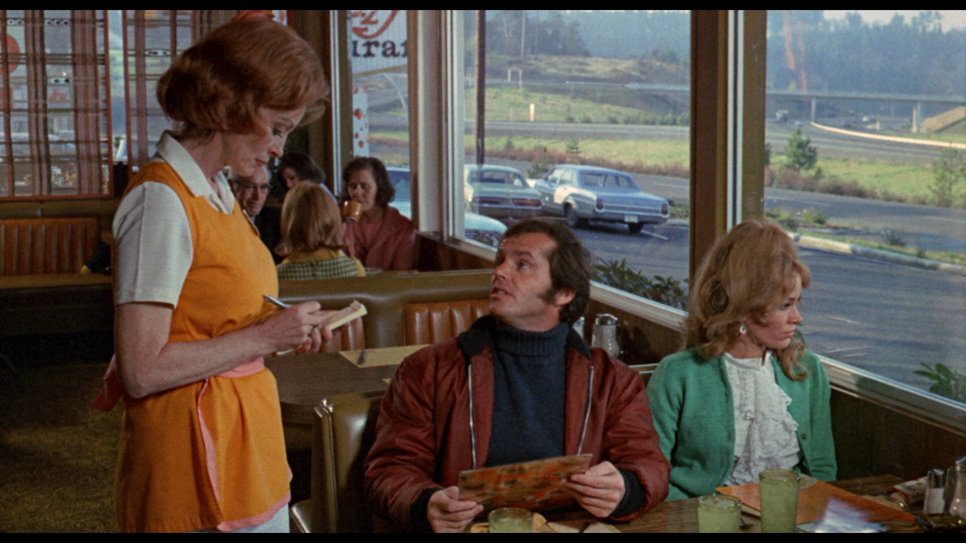"""I'd like an omelet, plain, and a chicken salad sandwich on wheat toast, no mayonnaise, no butter, no lettuce. ..."""