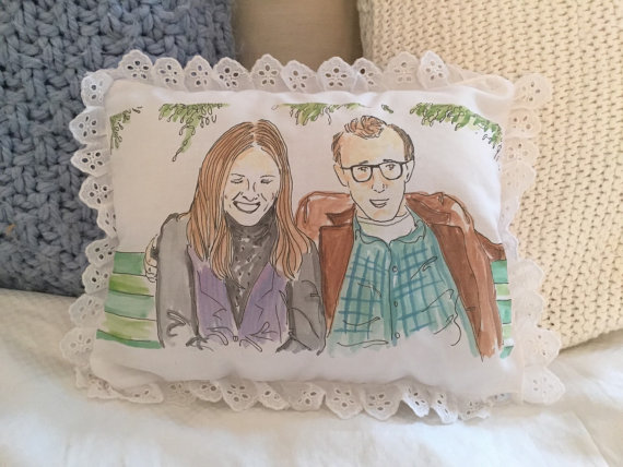Annie Hall Ugly Pillow