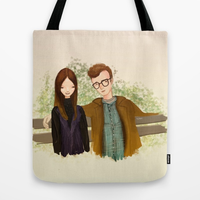 annie hall tote bag