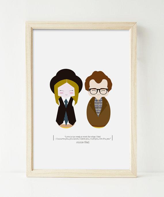 Annie Hall print