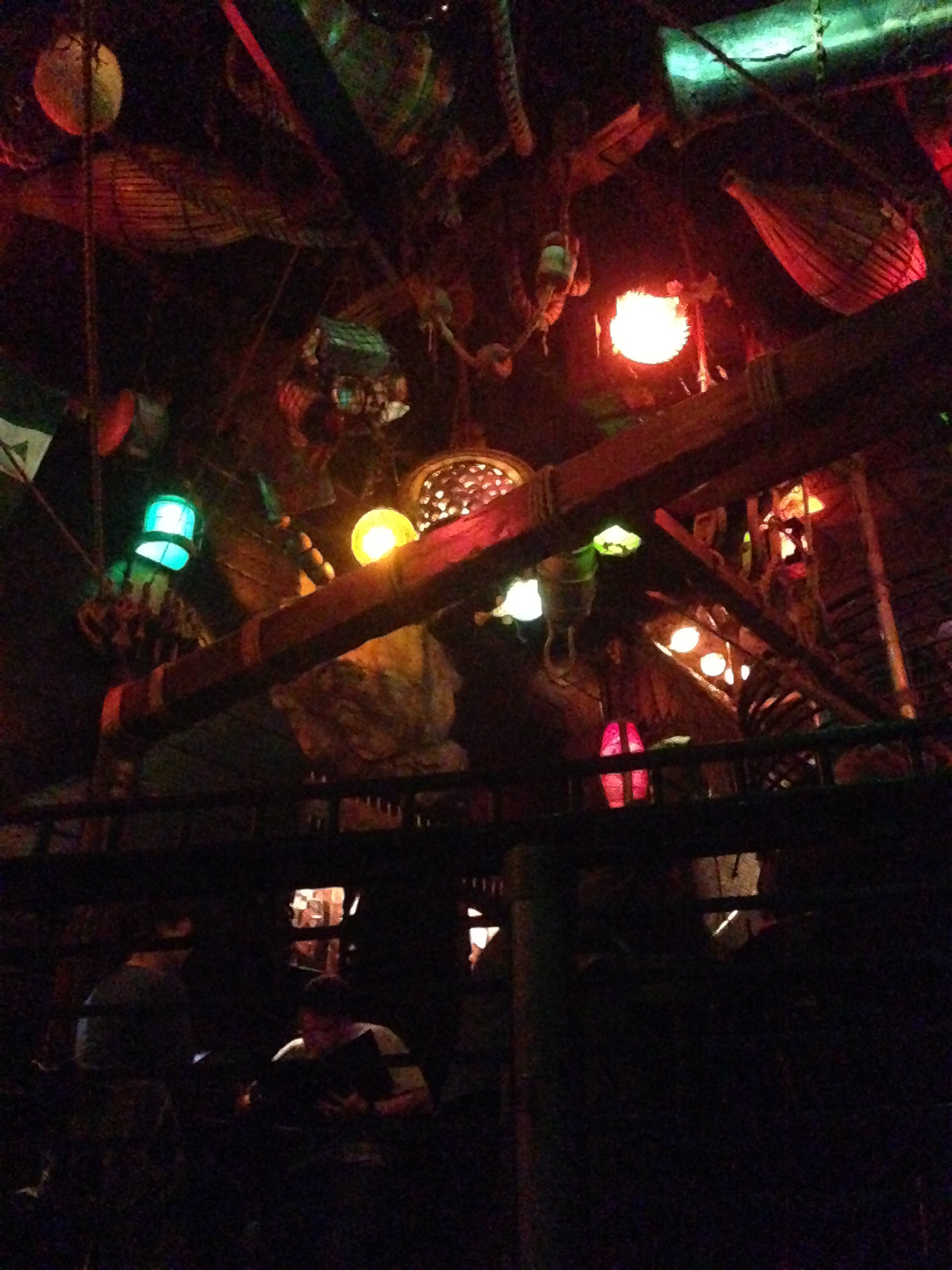Smugglers Cove ceiling