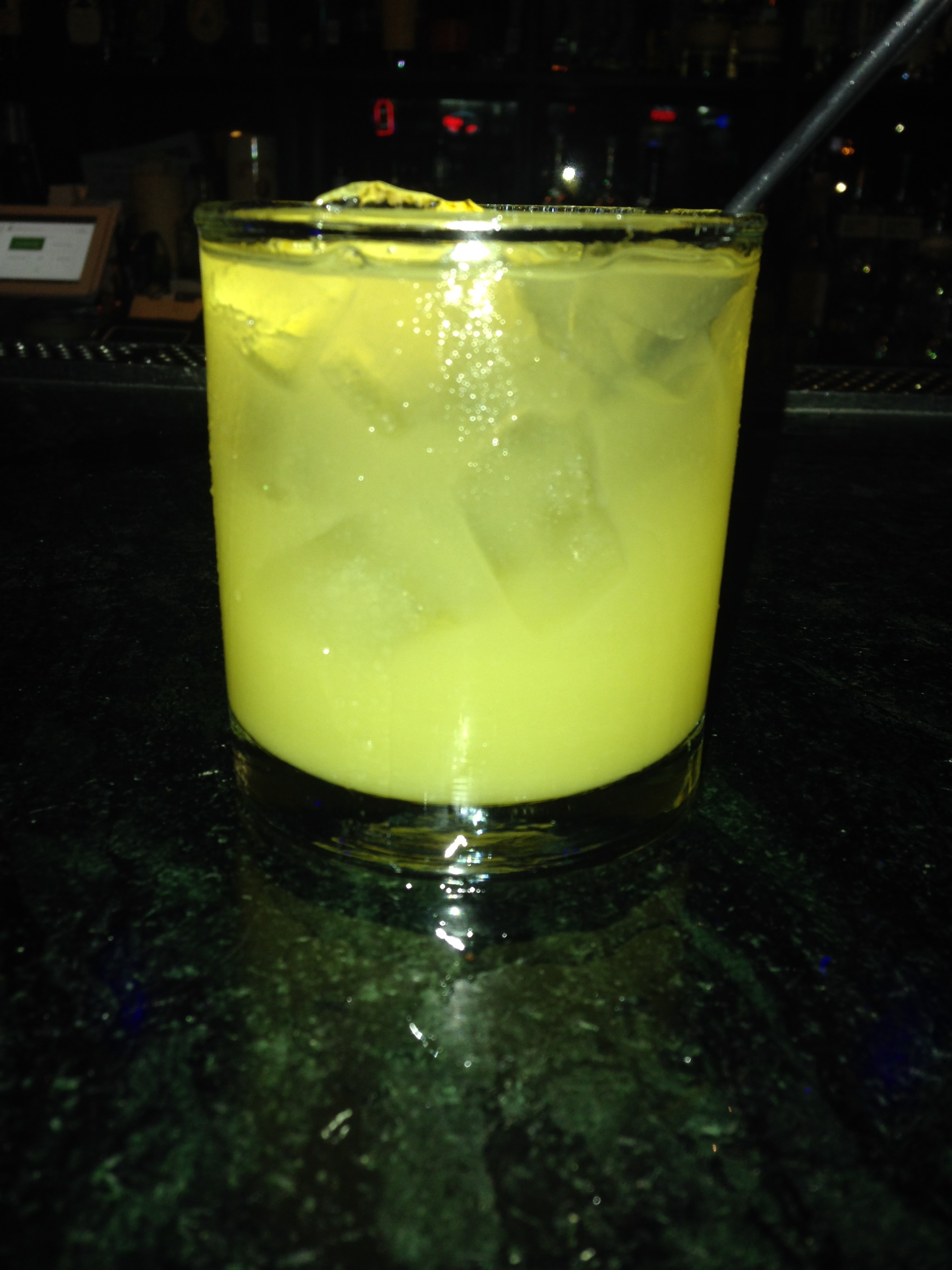 Why did I take a picture of this rum and pineapple juice? Only my blood alcohol content could tell.