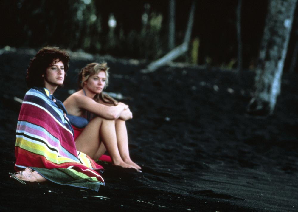 BLACK WIDOW, Debra Winger, Theresa Russell, 1987, TM & Copyright (c) 20th Century Fox Film Corp.