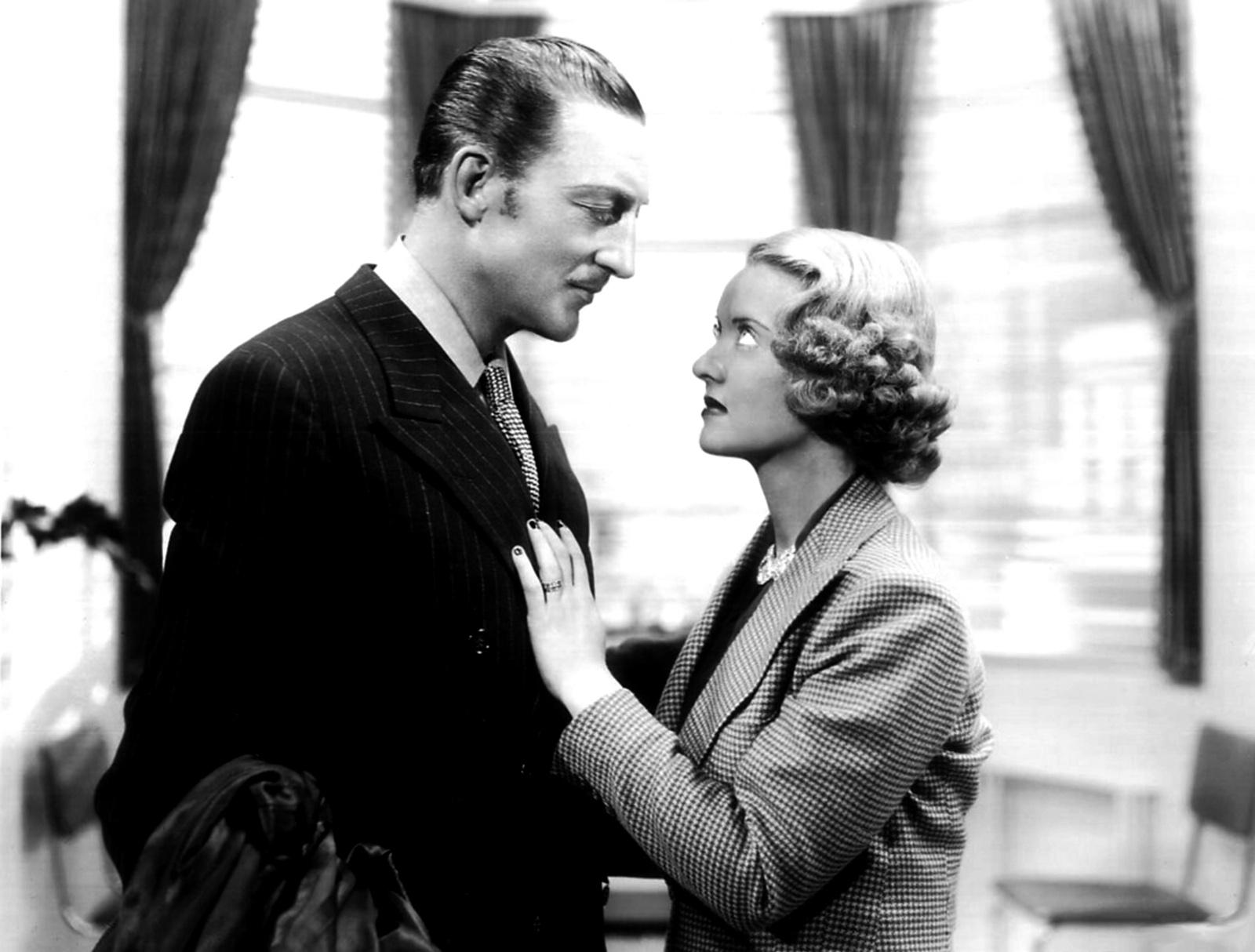 Warren William and Bette Davis, 1936