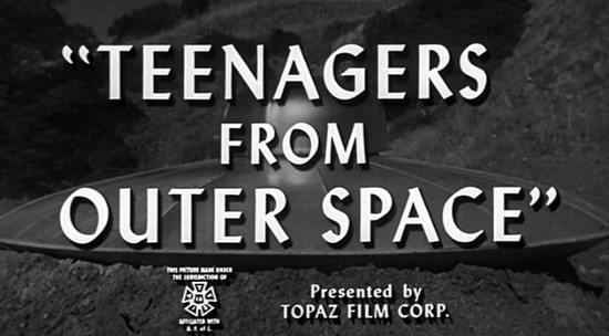 Teenagers Outer Space