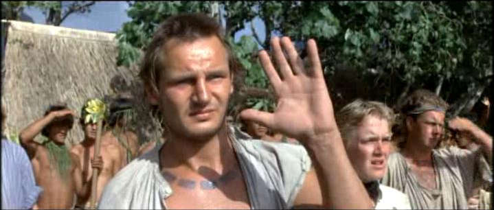 A painfully young Liam Neeson