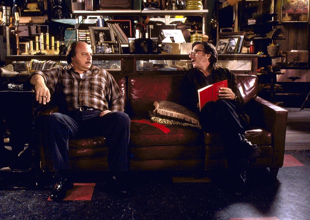 AMERICAN BUFFALO, Dennis Franz, Dustin Hoffman, 1996. ©Samuel Goldwyn