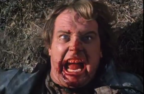 Roddy Piper tends to get beat up in his films.