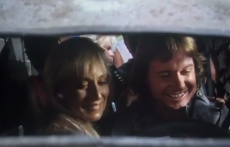Roddy Piper and Sandahl Bergman
