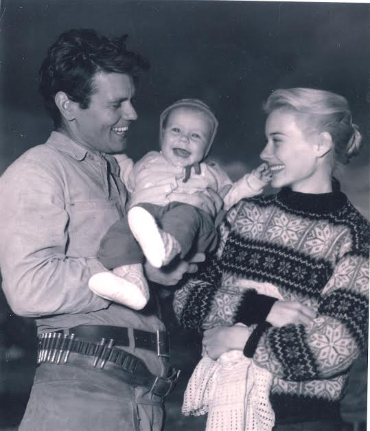 Don Murray, son Christopher Murray, and mother Hope Lange