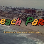 Beach Party (1963) Frankie Avalon Annette Funicello AIP