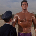 Muscle Beach Party review Annette Funicello Frankie Avalon