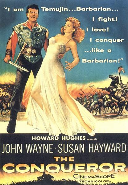The Conqueror Poster